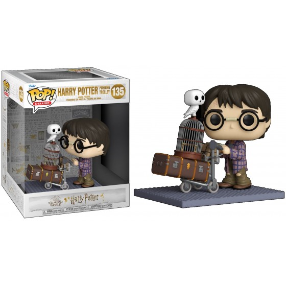 Funko Pop - Harry Potter Pushing Trolley (135) - Harry Potter Anniversary - The Gamebusters
