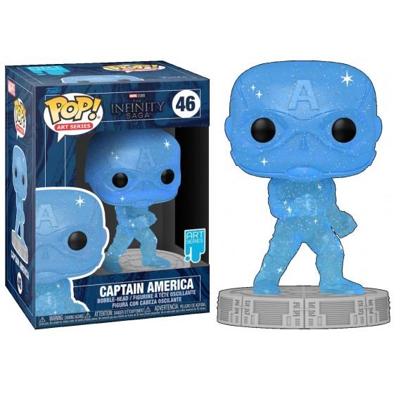 Funko Pop - Captain America (46) - Marvel - The Infinity Saga - The Gamebusters