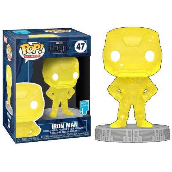Funko Pop - Iron Man (47) - Marvel - The Infinity Saga - The Gamebusters