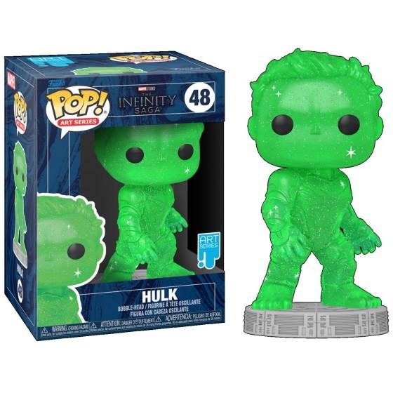 Funko Pop - Hulk (48) - Marvel - The Infinity Saga - The Gamebusters