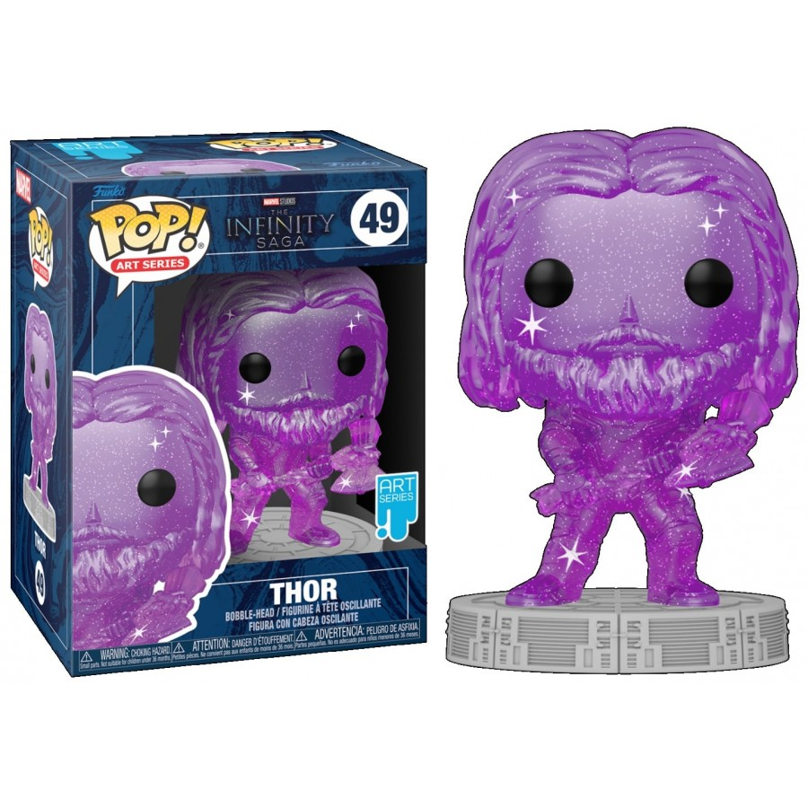 Funko Pop - Thor (49) - Marvel - The Infinity Saga - The Gamebusters