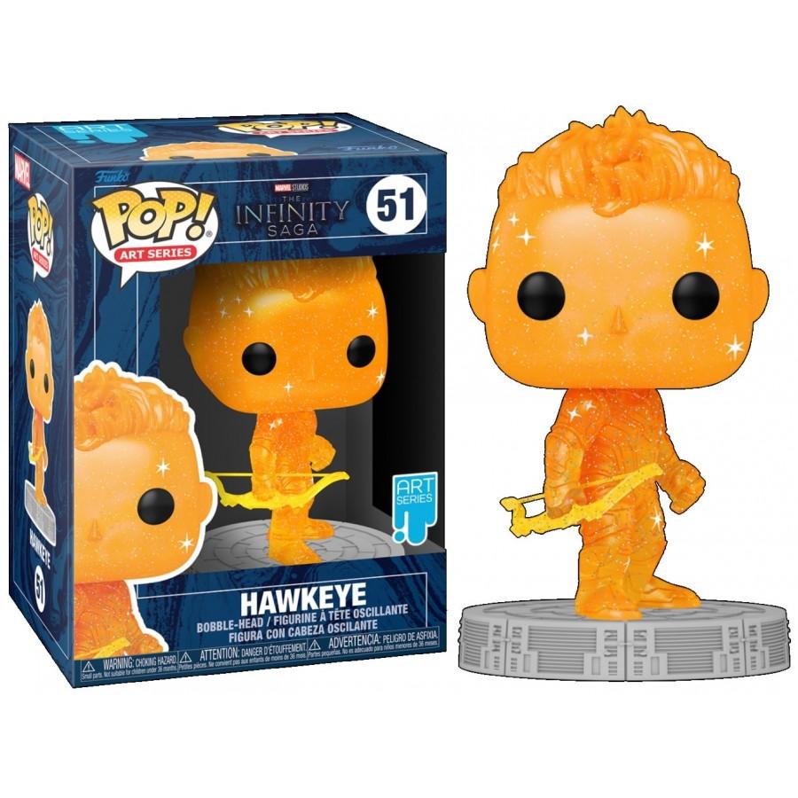 Funko Pop - Hawkeye (51) - Marvel - The Infinity Saga - The Gamebusters