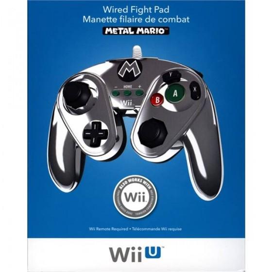 Controller Metal Mario Edition - WiiU - The Gamebusters
