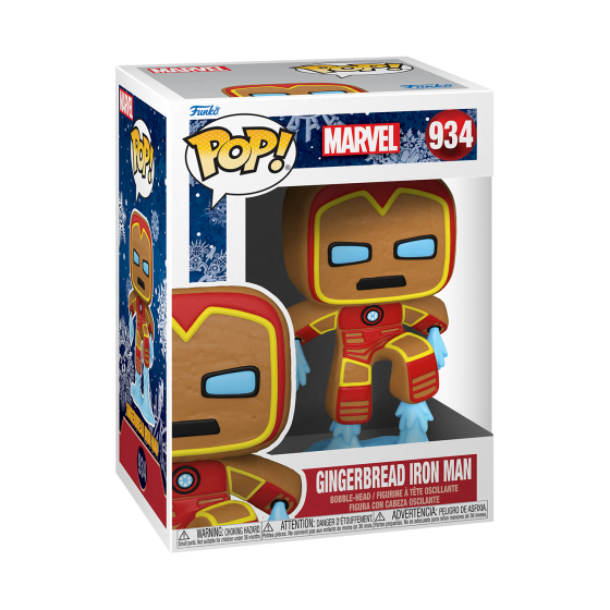 Funko Pop - Gingerbread Iron Man - Marvel Holiday - The Gamebusters