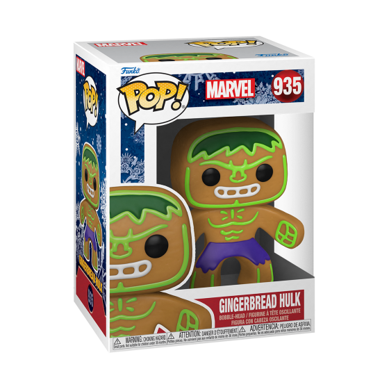 Funko Pop - Gingerbread Hulk (935) - Marvel Holiday - The Gamebusters