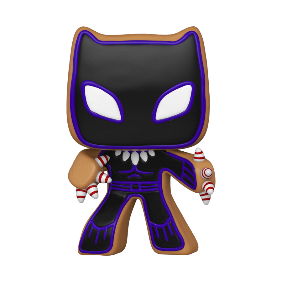 Funko Pop - Gingerbread Black Panther (937) - Marvel Holiday - The Gamebusters