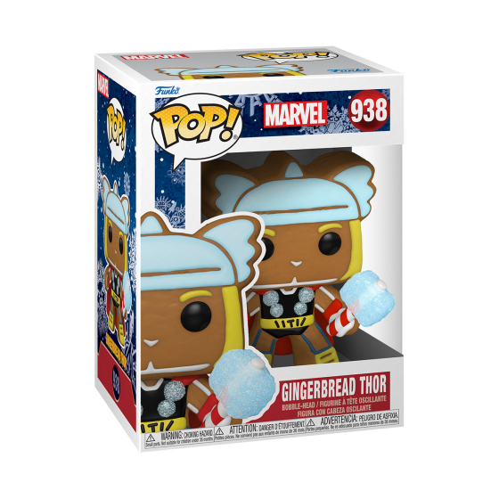 Funko Pop - Gingerbread Thor (938) - Marvel Holiday