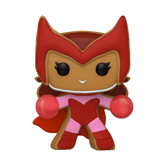 Funko Pop - Gingerbread Scarlet Witch (940) - Marvel Holiday