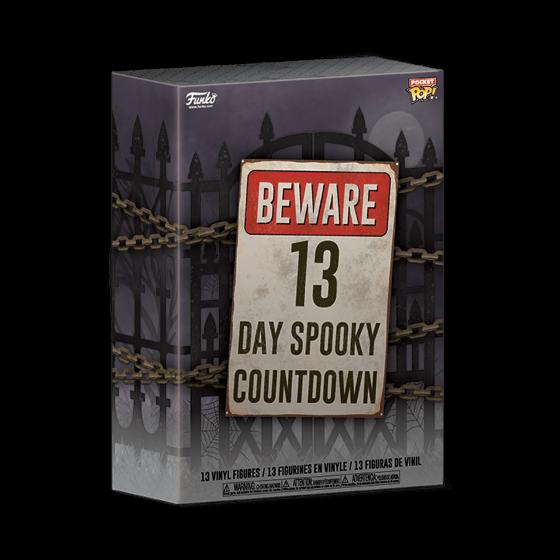 Funko - Calendario dell'Avvento 13-Day Spooky Countdown (48114) - The Gamebusters