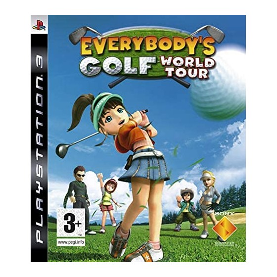 Everybody's Golf World Tour - PS3 - The Gamebusters