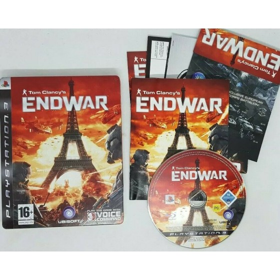 Tom Clancy's Endwar - Steelbook Edition - PS3 - The Gamebusters