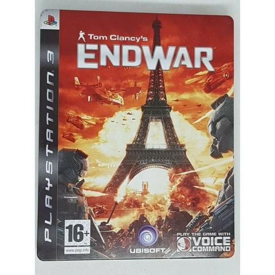Tom Clancy's Endwar - Steelbook Edition - PS3 usato