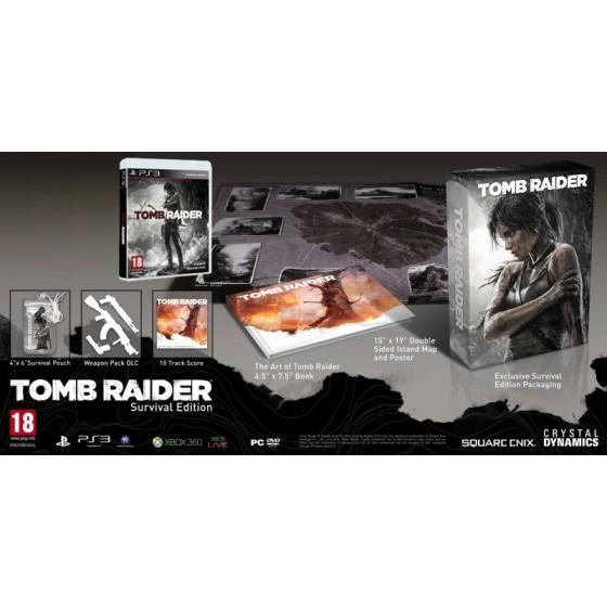 Tomb Raider - Survival Edition - PS3