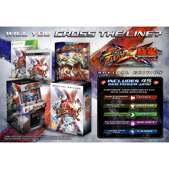 Street Fighter X Tekken - Special Edition - PS3 - The Gamebusters