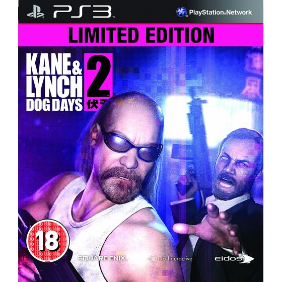Kane & Lynch 2 Dog Days - Limited Edition - PS3 - The Gamebusters