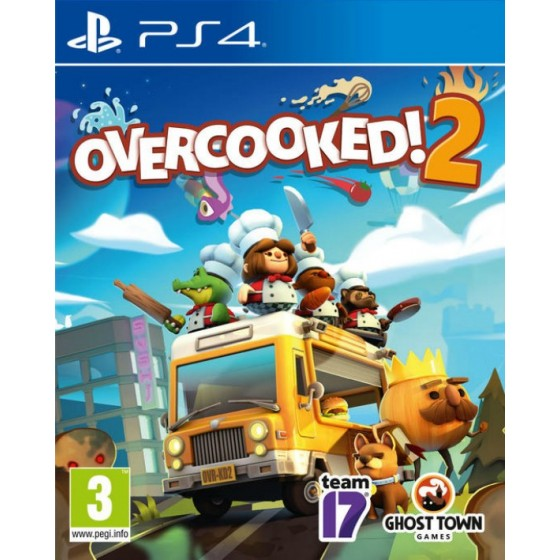 Overcooked 2 - PS4 - The Gamebusters