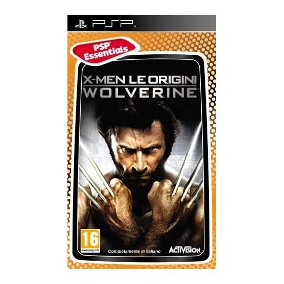X-Men Le Origini Wolverine - Essentials - PSP - The Gamebusters