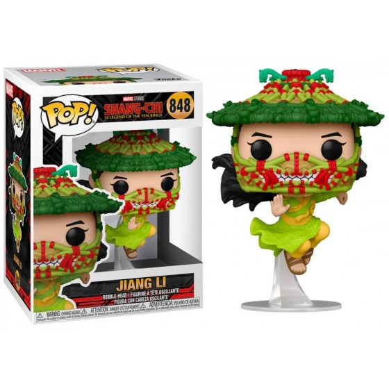 Funko Pop - Jiang Li (848) - Marvel - Shang-Chi and the Legend of the Ten Rings - The Gamebusters