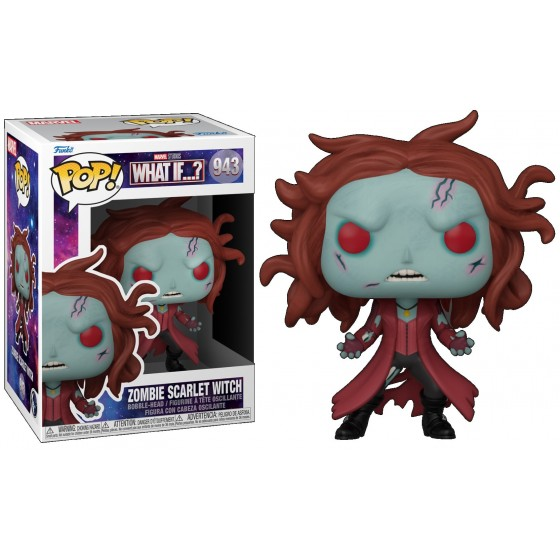 Funko Pop - Zombie Scarlet Witch (943) - Marvel What If...? - The Gamebusters