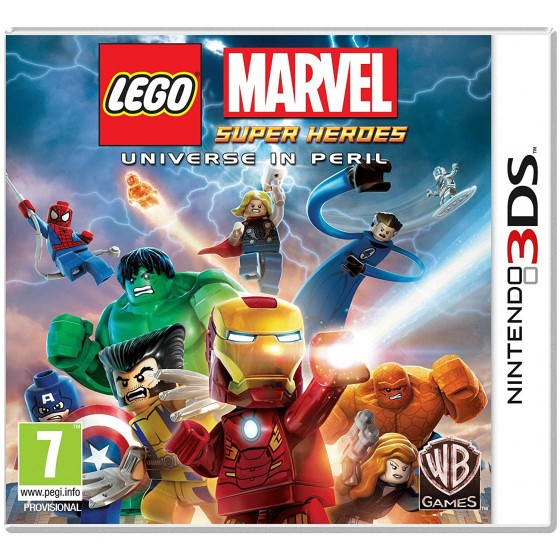 LEGO Marvel Super Heroes - 3DS - The Gamebusters