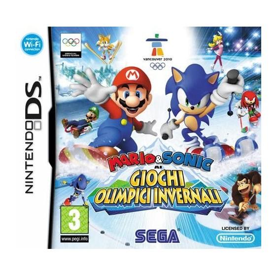 Mario & Sonic ai Giochi Olimpici Invernali - DS - The Gamebusters