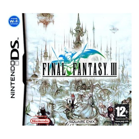 Final Fantasy III - DS - The Gamebusters