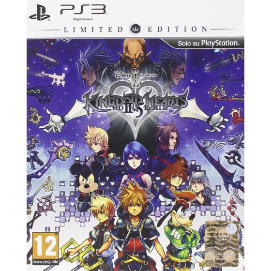 Kingdom Hearts HD 2.5 ReMIX - Limited Edition - PS3 - the Gamebusters