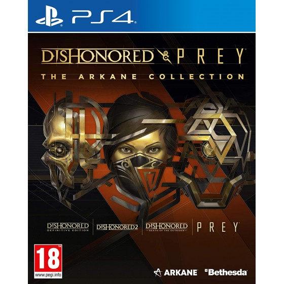 Dishonored and Prey - The Arkane Collection - PS4 - the Gamebusters