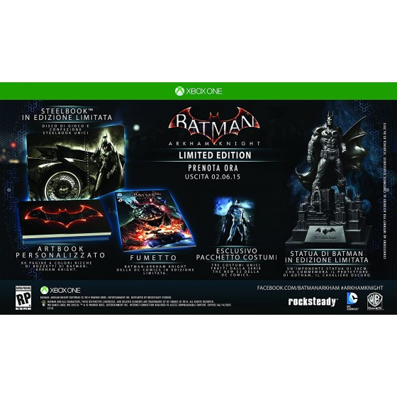 Batman Arkham Knight - Limited Edition - Xbox One - The Gamebusters