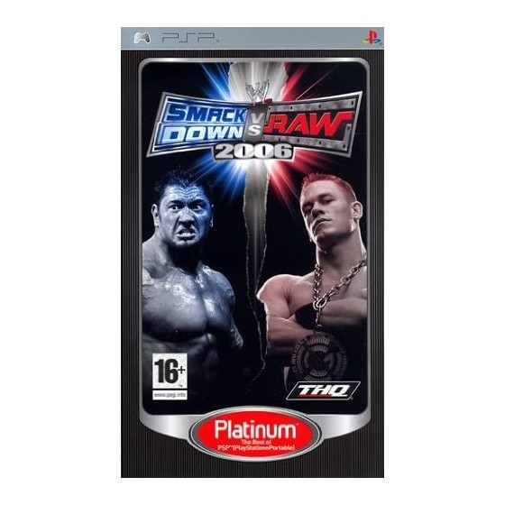 WWE Smackdown vs Raw 2006 - Platinum - PSP - The Gamebusters