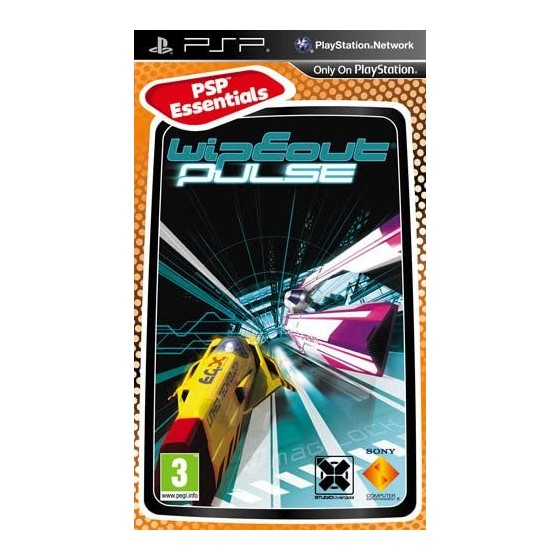 Wipeout Pulse - Essentials - PSP - The Gamebusters