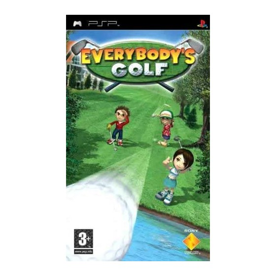 Everybody's Golf - PSP - The Gamebusters