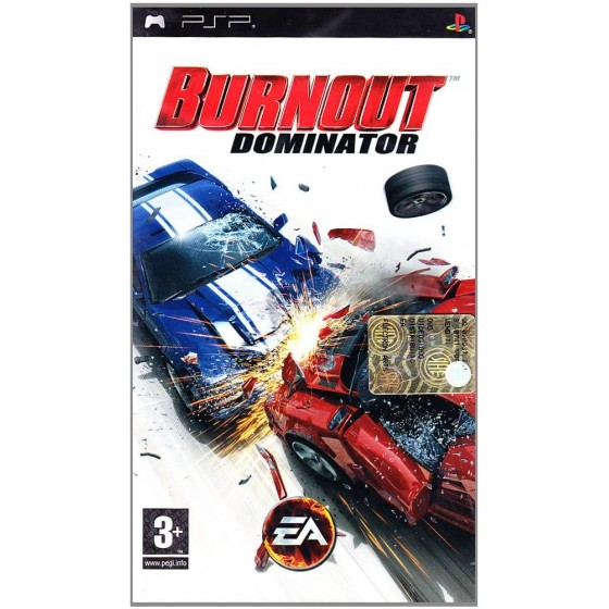 Burnout Dominator - PSP - The Gamebusters