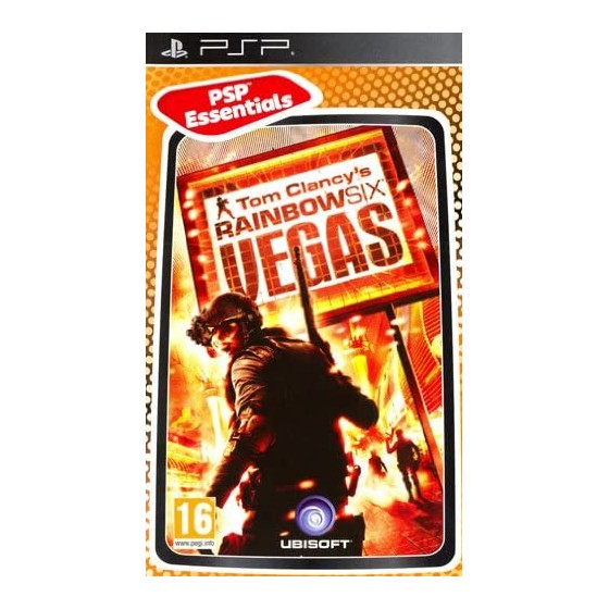 Tom Clancy's Rainbow Six Vegas - Essentials - PSP - The Gamebusters