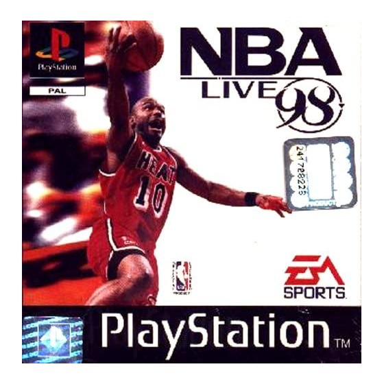 NBA Live 98 - PS1 - The Gamebusters