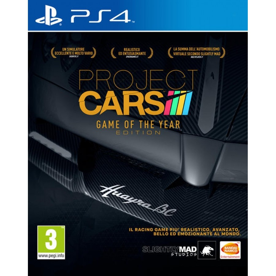 Project Cars - Game of the Year Edition per ps4