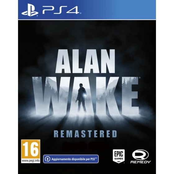 Alan Wake - Remastered - PS4 - The Gamebusters