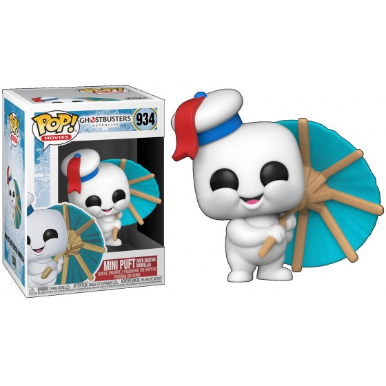 Funko Pop - Mini Puft with Cocktail Umbrella (934) - Ghostbusters After Life