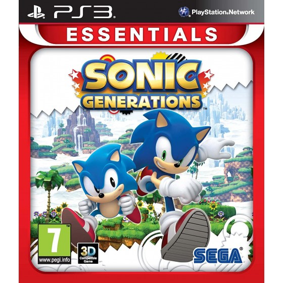 Sonic Generations - Essentials - PS3 - The Gamebusters