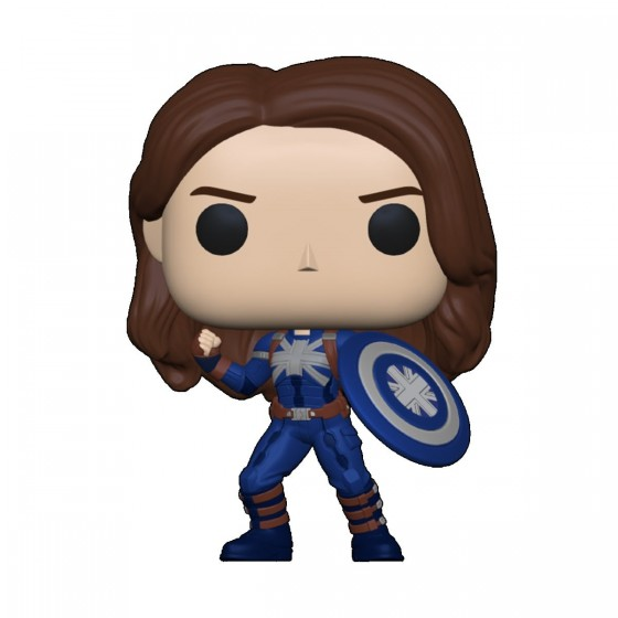 Funko Pop - Captain Carter (Stealth) - Marvel What If...? - The Gamebusters