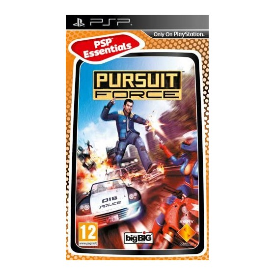 Pursuit Force - Essentials - PSP - The Gamebusters