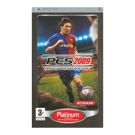 PES 2009 - Platinum - PSP - The Gamebusters