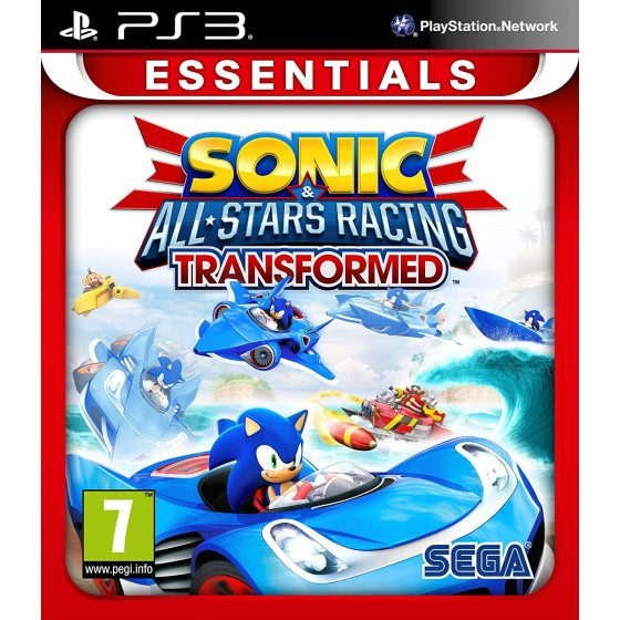 Sonic & All-Stars Racing Transformed - Essentials - PS3 - The Gamebusters
