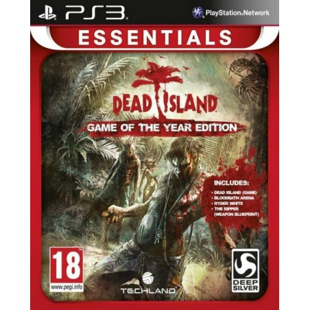 Dead Island - GOTY Edition - Essentials - PS3