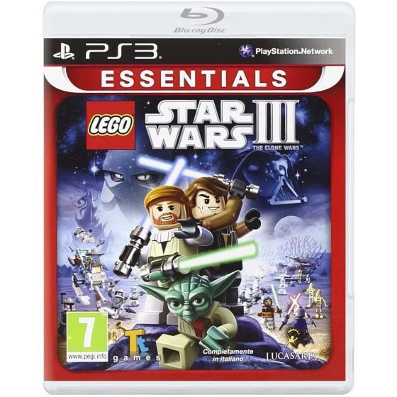 Lego Star Wars 3 - La Guerra dei Cloni - Essentials - PS3 - The Gamebusters