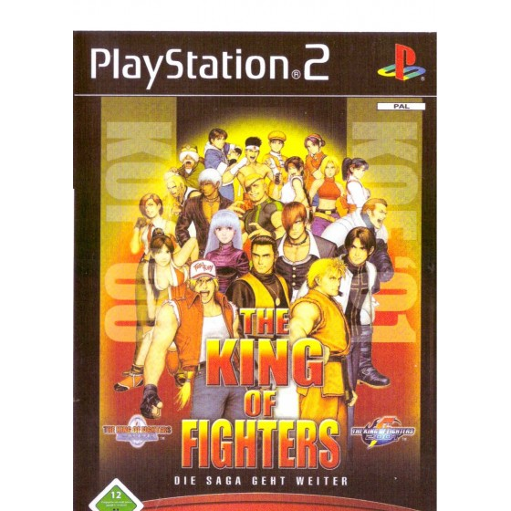 The King of Fighters 2000-2001 - PS2 - The Gamebusters