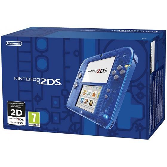 Console Nintendo 2DS Blu Transparente - The Gamebusters