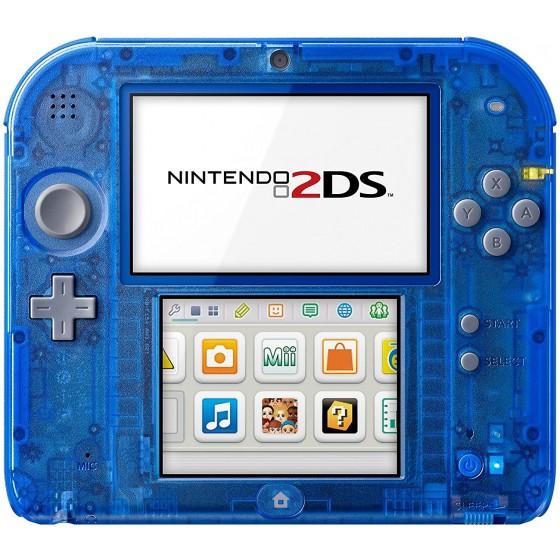Console Nintendo 2DS Blu Transparente - usato
