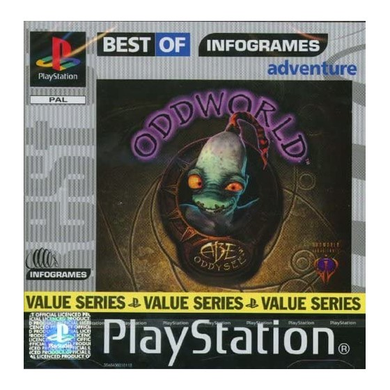 Oddworld: Abe's Oddysee - Best of Infogrames - PS1 - The Gamebusters