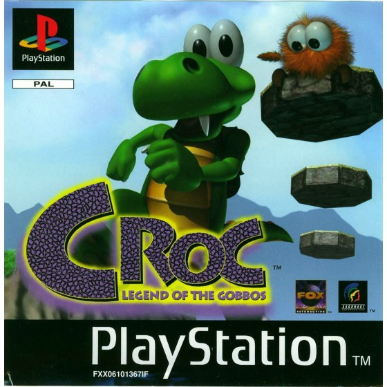 Croc: The Legend of Gobbos - PS1 - The Gamebusters